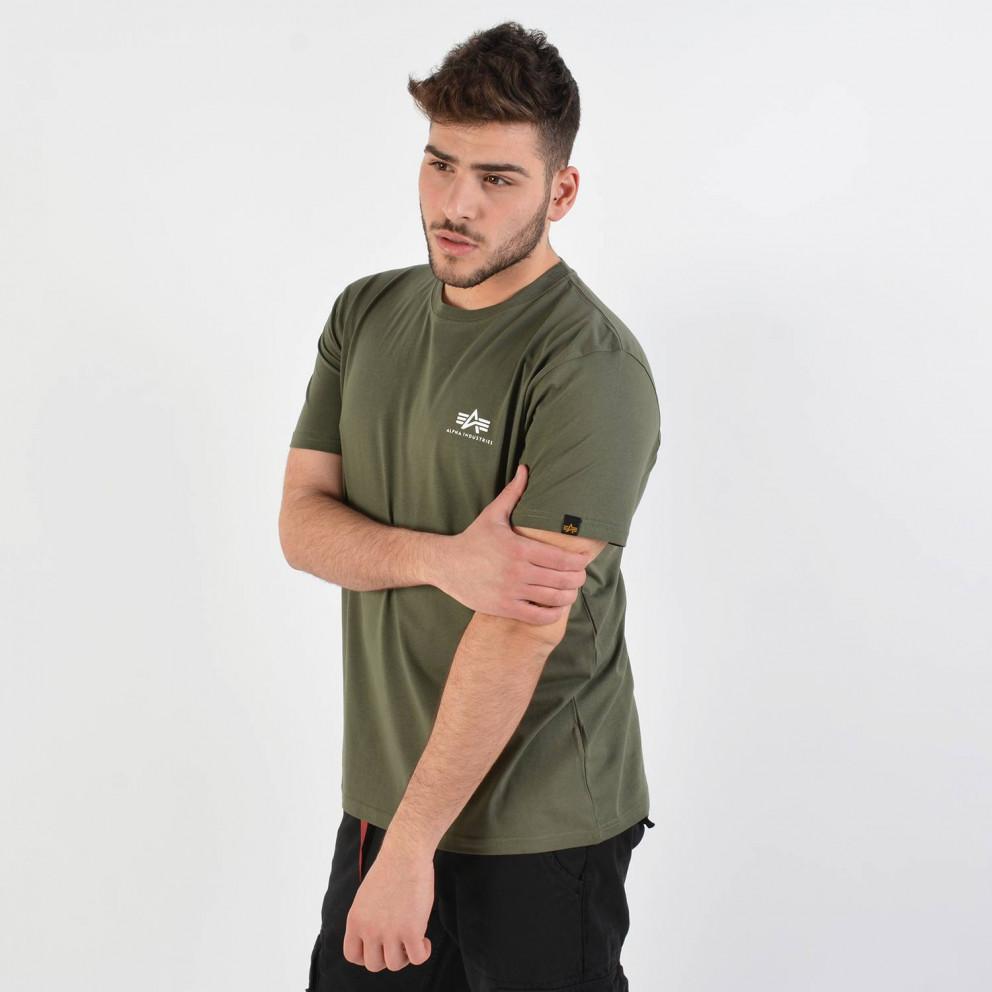 Alpha Industries Men'S Basic Small Logo T-Shirt - Ανδρικό Μπλουζάκι