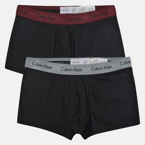 Calvin Klein Men's Low Rise 2P Trunk - Ανδρικά Μποξεράκια