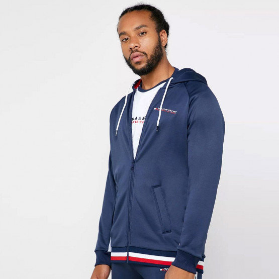 Tommy Sport Knit Signature Tape Men's Hoodie