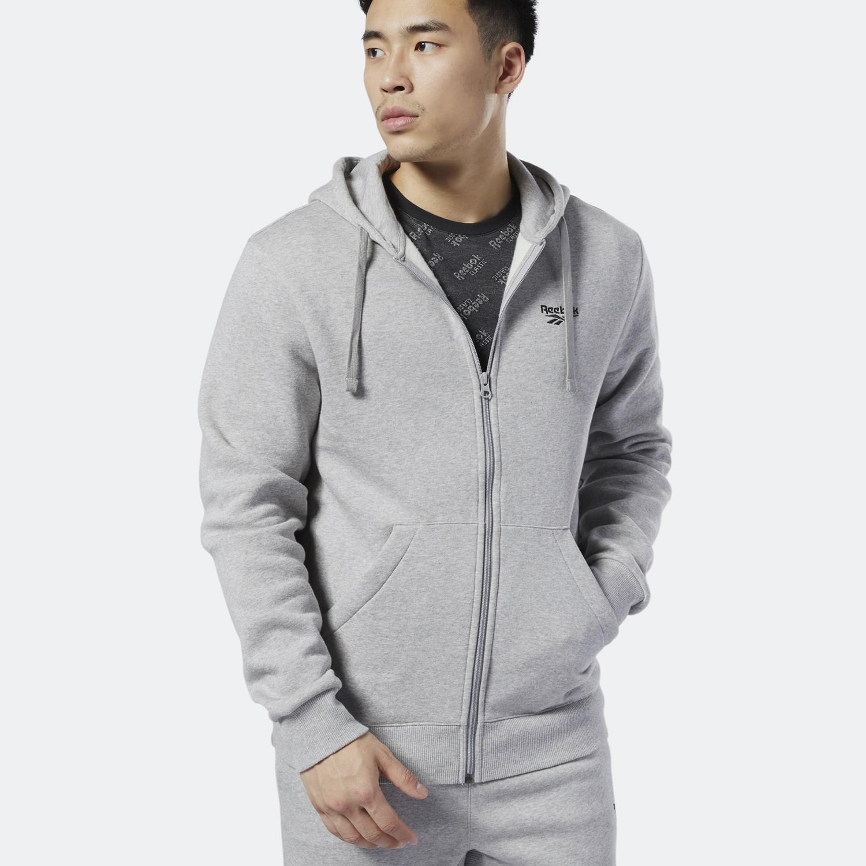 Reebok Classics Men's Fleece Jacket - Ανδρική Ζακέτα (9000032998_7747)