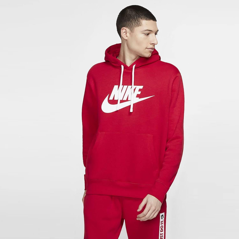 Nike Sportswear Club Hoodie, university red