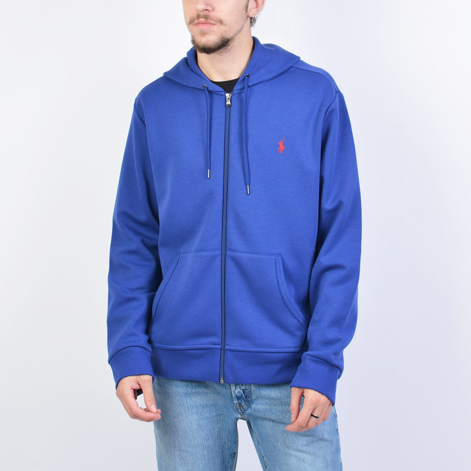 Polo Ralph Lauren Double-Knit Hoodie - Ανδρική Ζακέτα (9000041407_42107)