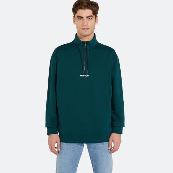 Wrangler Half Zip Sweater
