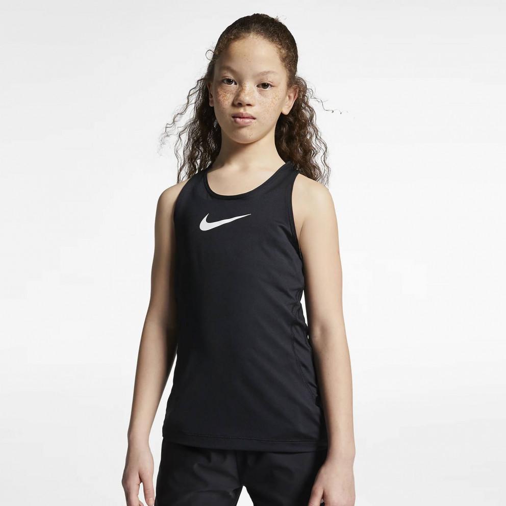 Nike Pro Παιδική Αμάνικη Μπλούζα