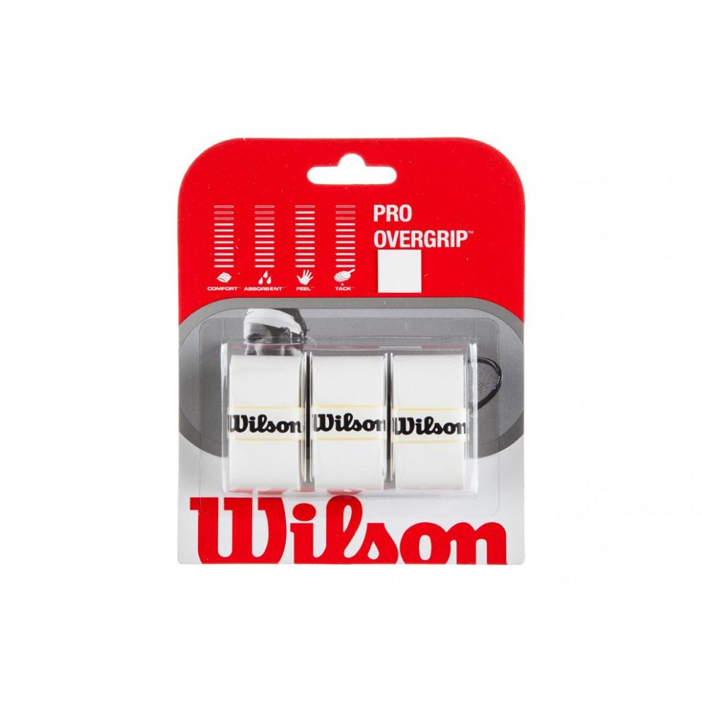 Wilson Pro Over Grip Wh