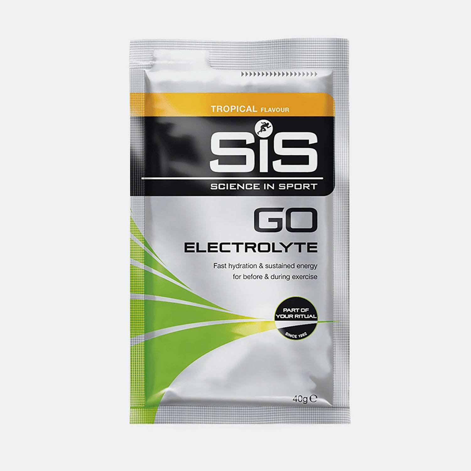 Science in Sport GO ELECTROLYTE TROPICAL 40g sache (30619600007_000)