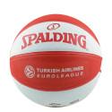 SPALDING EUROLEAGUE TEAM SIZE 7 RUBBER-BASKETBALL
