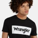 Wrangler SS LOGO TEE BLACK
