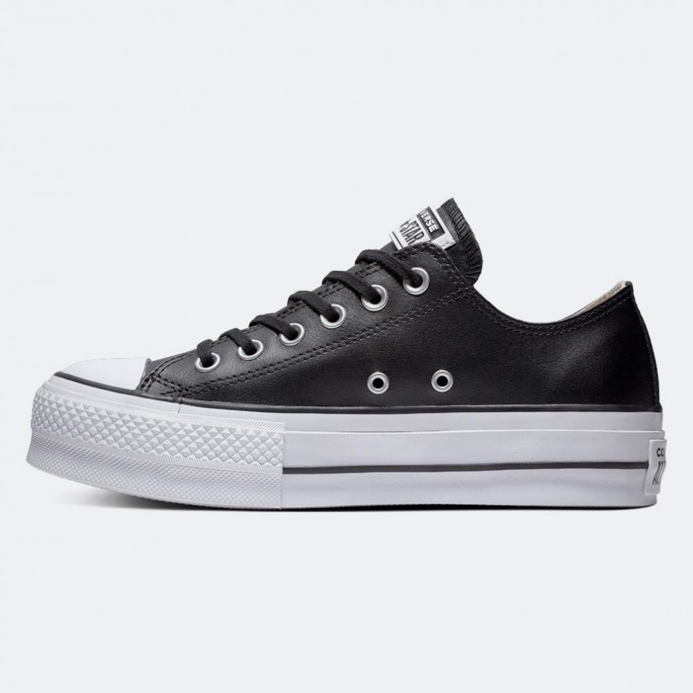 Converse Chuck Taylor All Star Clean Leather Women's Platform Shoes
