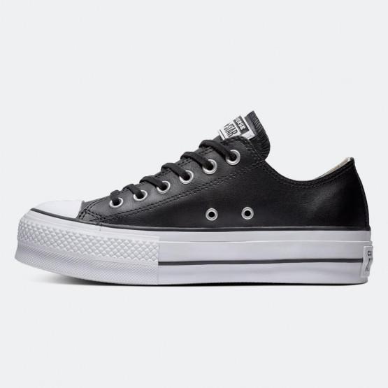 Converse Chuck Taylor All Star Clean Leather Γυναικεία Platform Παπούτσια