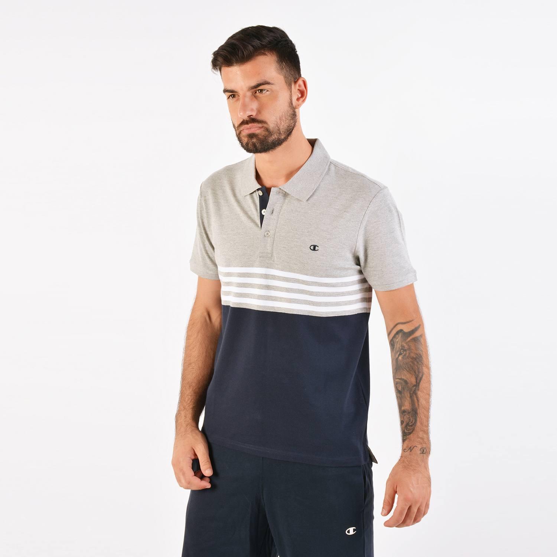 Champion Men's Polo T-shirt - Ανδρική Μπλούζα (9000037668_41430)