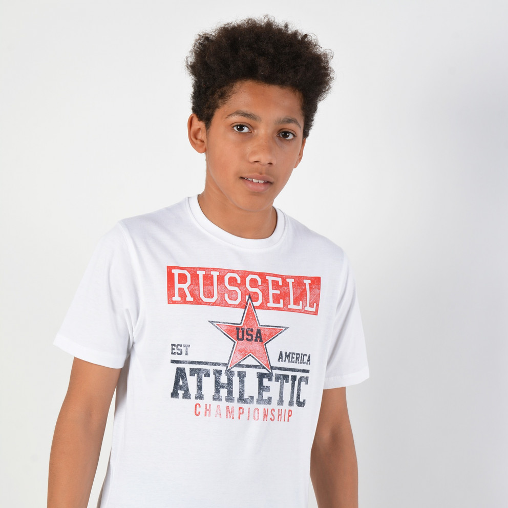 Russell Athletic Kids Championship T-Shirt - Παιδικό Μπλουζάκι