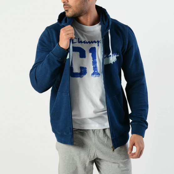 Champion | Men's Hooded Full Zip Sweatshirt