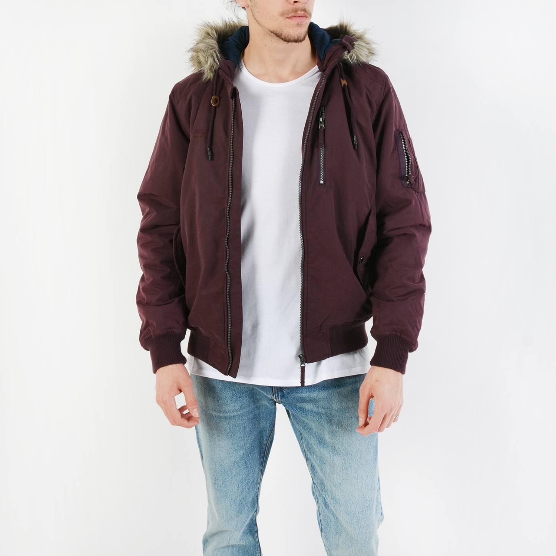Basehit Men's hooded- Ανδρικό Jacket (9000027133_35815)