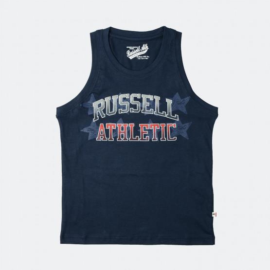 RUSSELL ATHLETIC  Star Logo   Παιδική Αμάνικη Μπλούζα