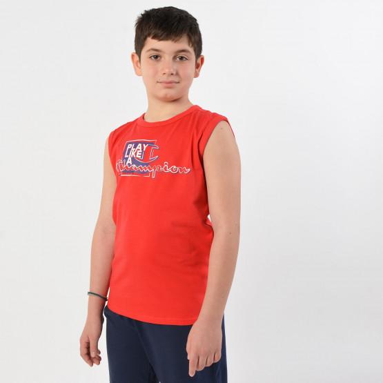Champion Sleeveless Crewneck Kids T-Shirt