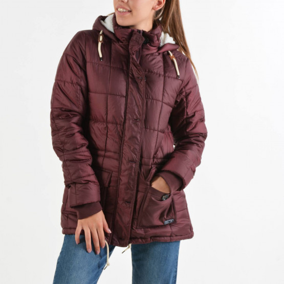 Body Action Hip-Length Quilted Jacket