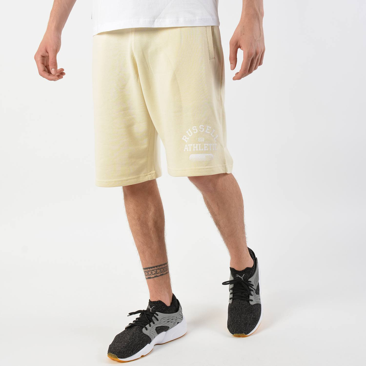 Russell Distressed Printed Men's Shorts - Ανδρικό Σορτσάκι (9000028861_38774)