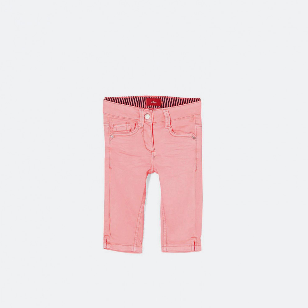 S.Oliver Skinny Kathy: Capri Trousers In A Neon Co