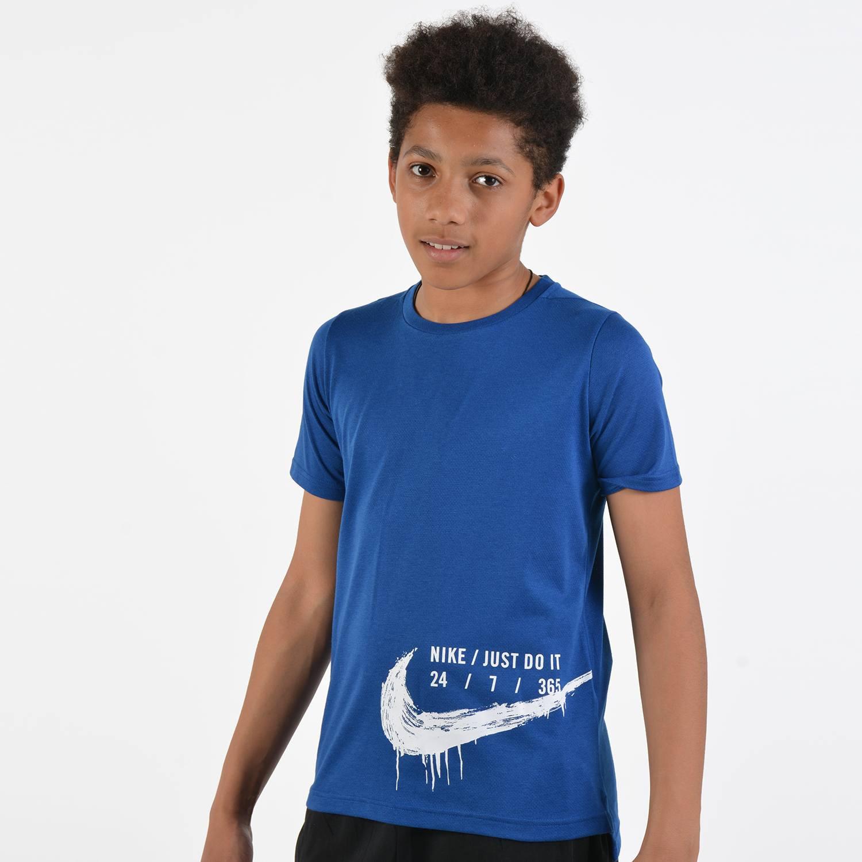 Nike Short-Sleeve Kid's Training Breathe Top