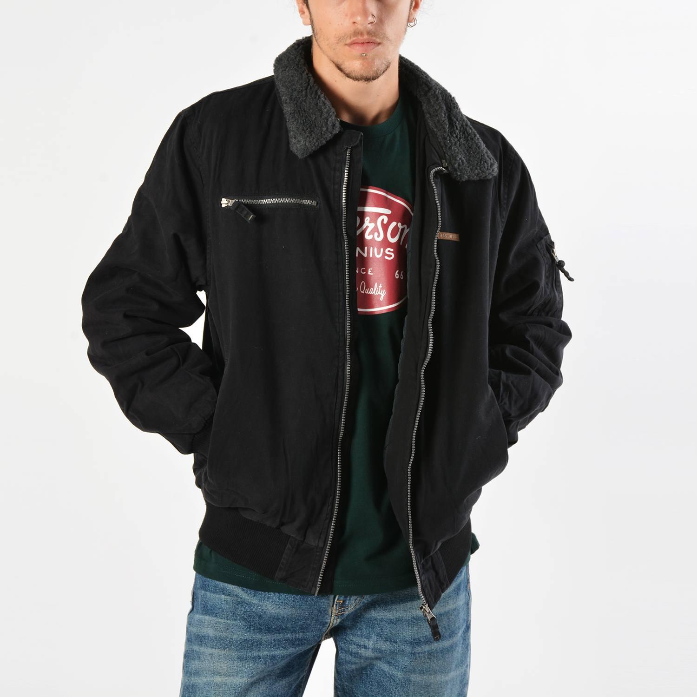 Basehit Men's Jacket With Fur Collar (9000019103_4924)
