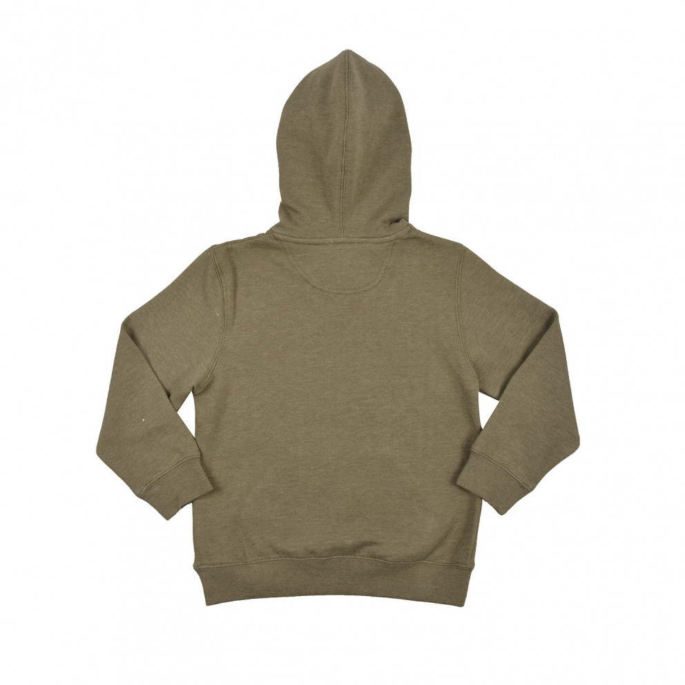Russell Athletic Pull Over Hoody With Washed Gr