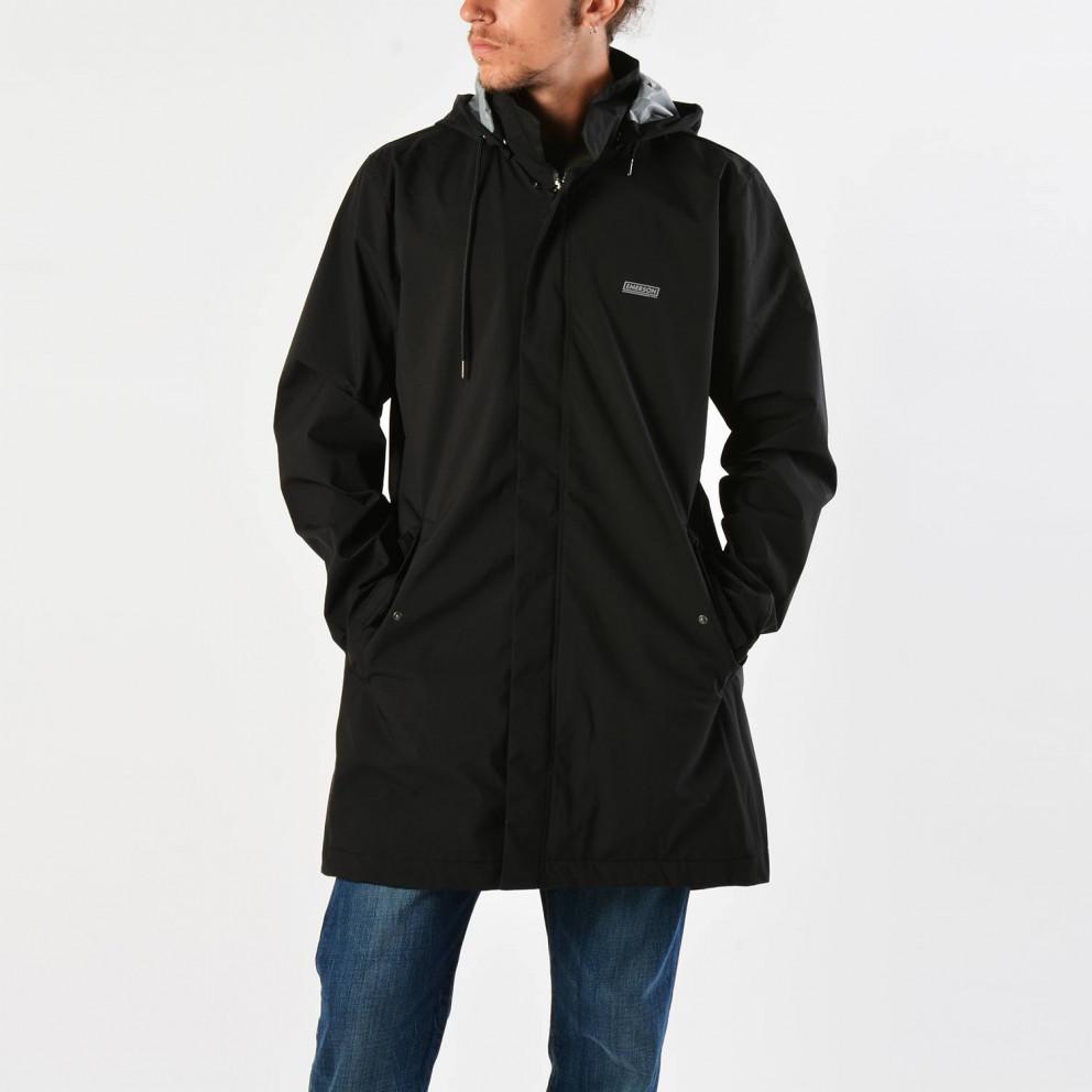 Emerson Men's Raincoat With Det/ble Hood