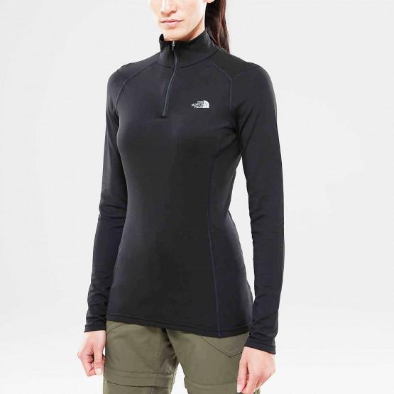 The North Face Women's Warm Long Sleeve Zip - Ισοθερμικό Μπλουζάκι