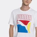 Puma Graphic Men's Logo Tee - Ανδρική Μπλούζα