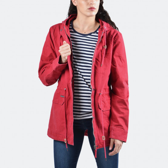 Basehit Women's long jacket | Γυναικείο Μπουφάν