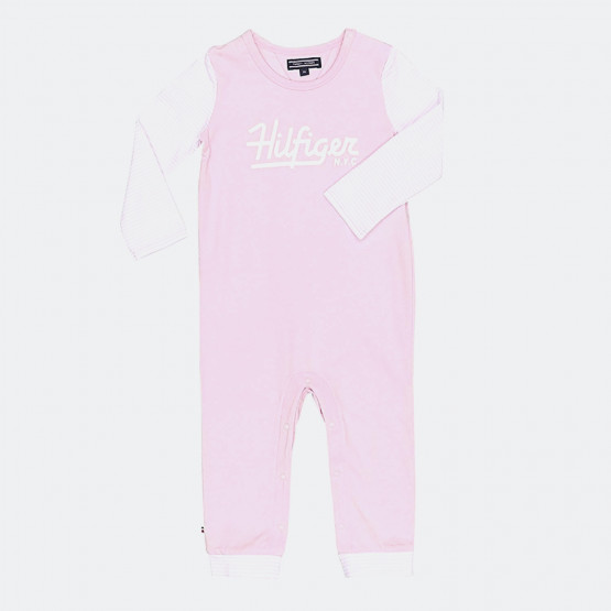 Tommy Jeans HILFIGER BABY COVERALL L/S