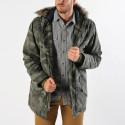 Basehit Men's Hood Long Jacket