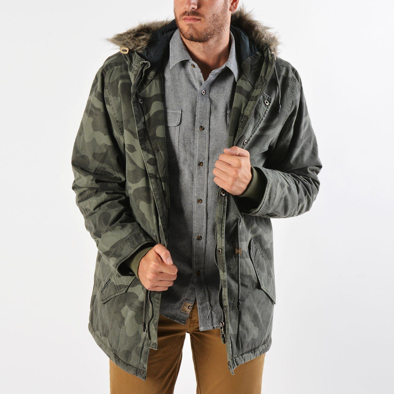 Basehit Men's Hood Long Jacket (9000019096_30893)