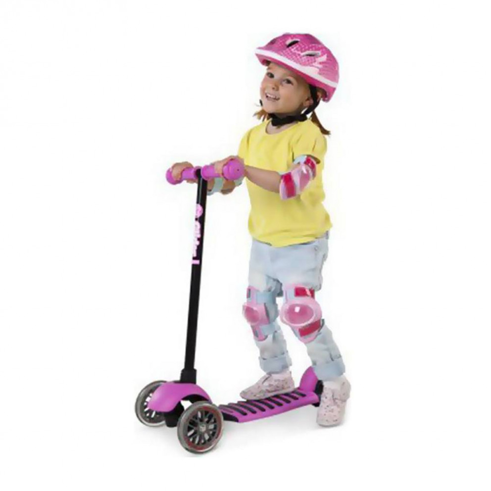 Y-Volution Glider Deluxe Unisex Scooter For Kid's