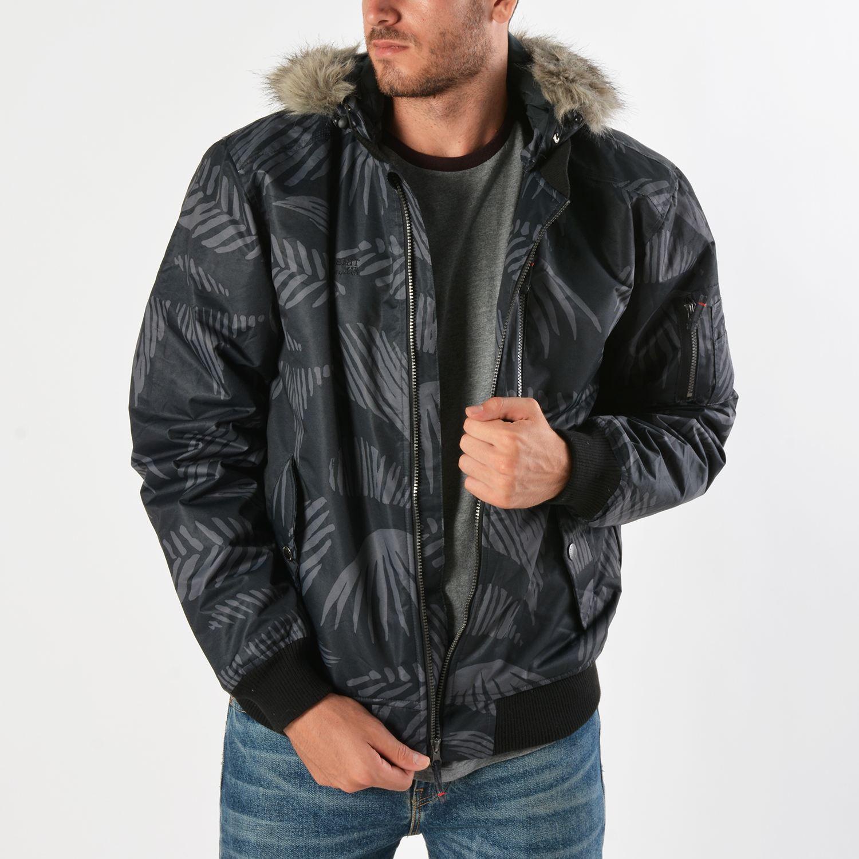 Basehit Men's Jacket Det Hood & Fake Fur (9000019089_35833)