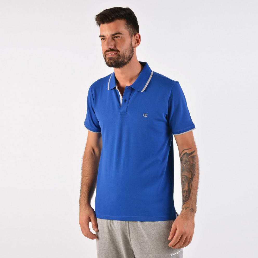 Champion Men's Polo - Ανδρική Polo Μπλούζα