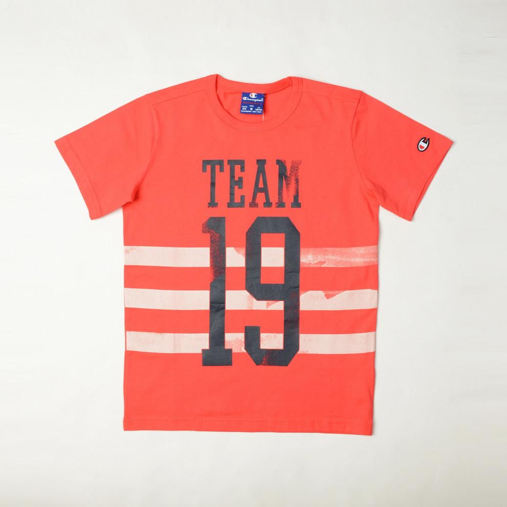 Champion Crewneck T-Shirt   Παιδική Μπλούζα