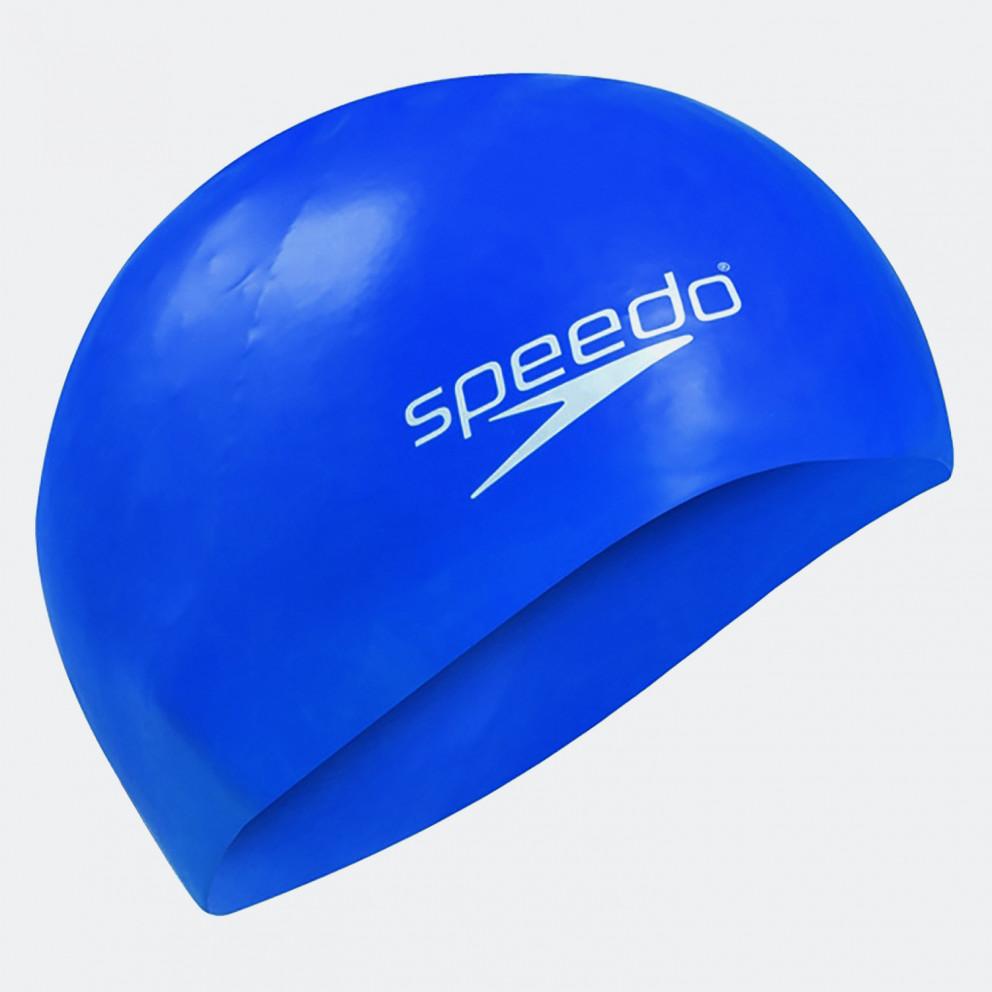 Speedo Junior Plain Moulded Silicone Cap