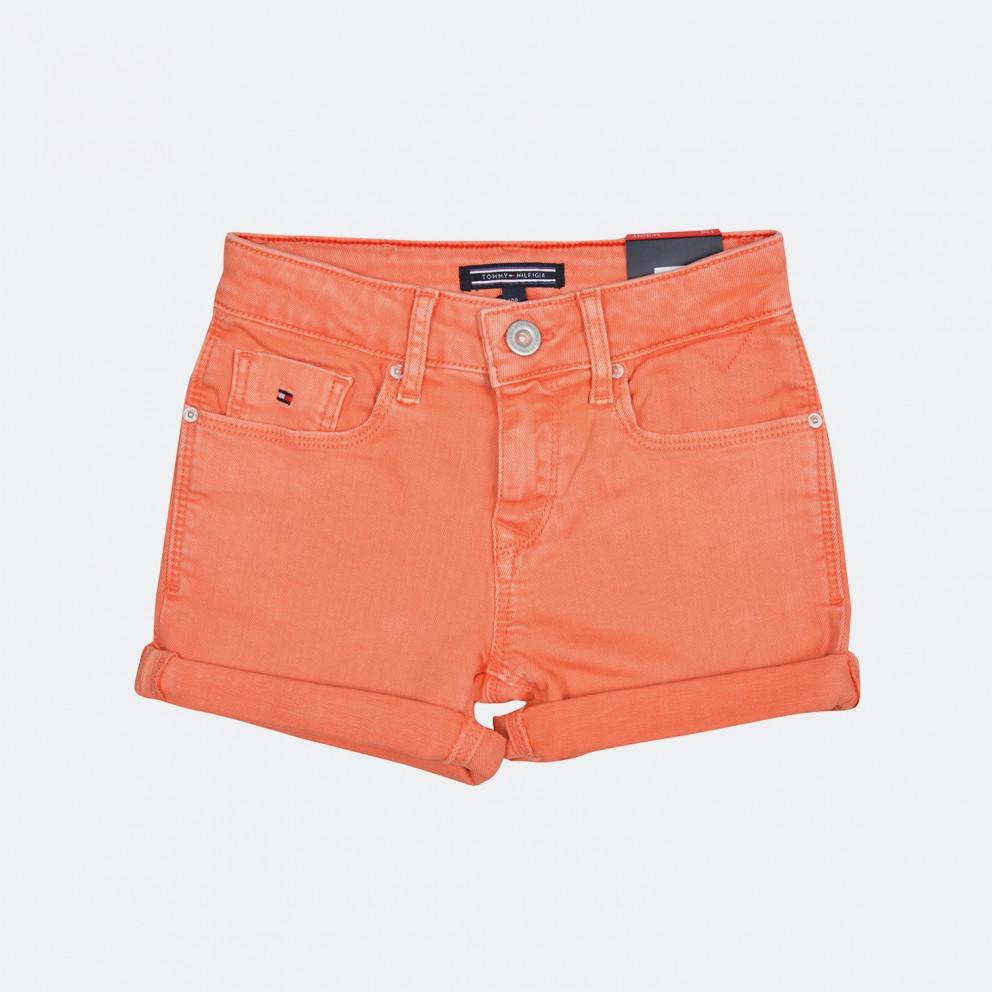 Tommy Jeans Skinny Fit Denim   Σορτς Για Κορίτσια