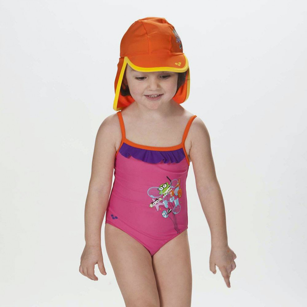 Arena Water Tribe Rouche Girl's One Piece
