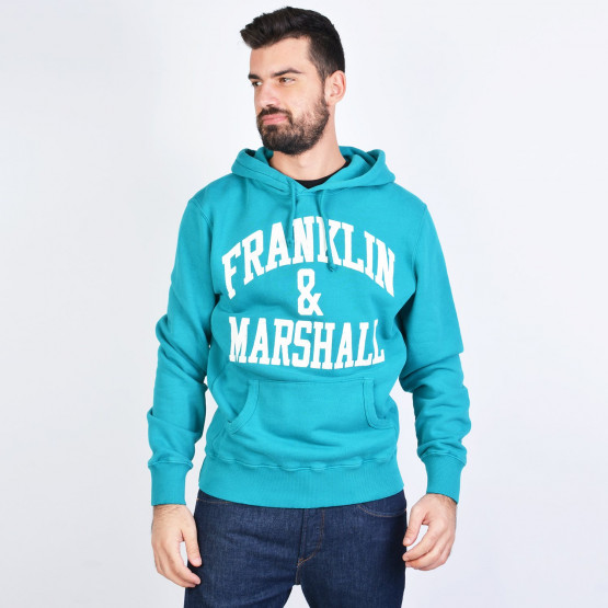 Franklin & Marshall FLEECE COTTON HOODED LONG