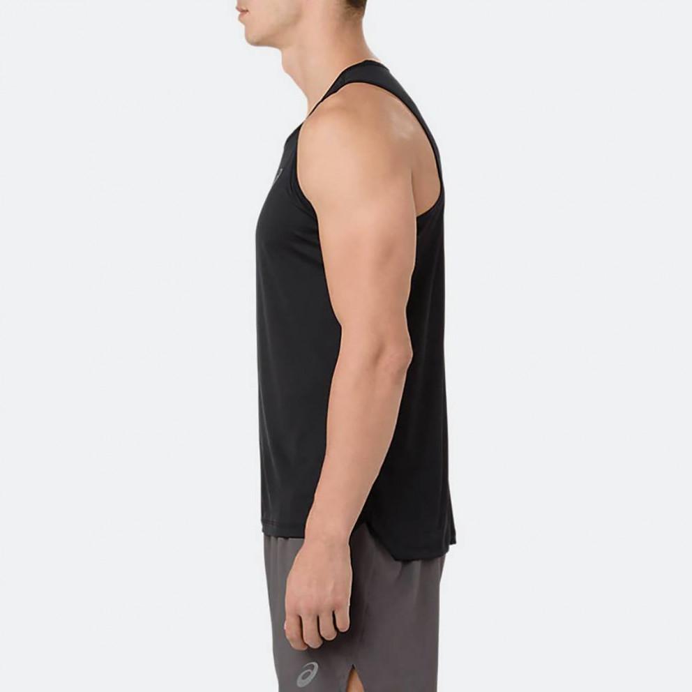 Asics Silver Ανδρική Αμάνικη Μπλούζα
