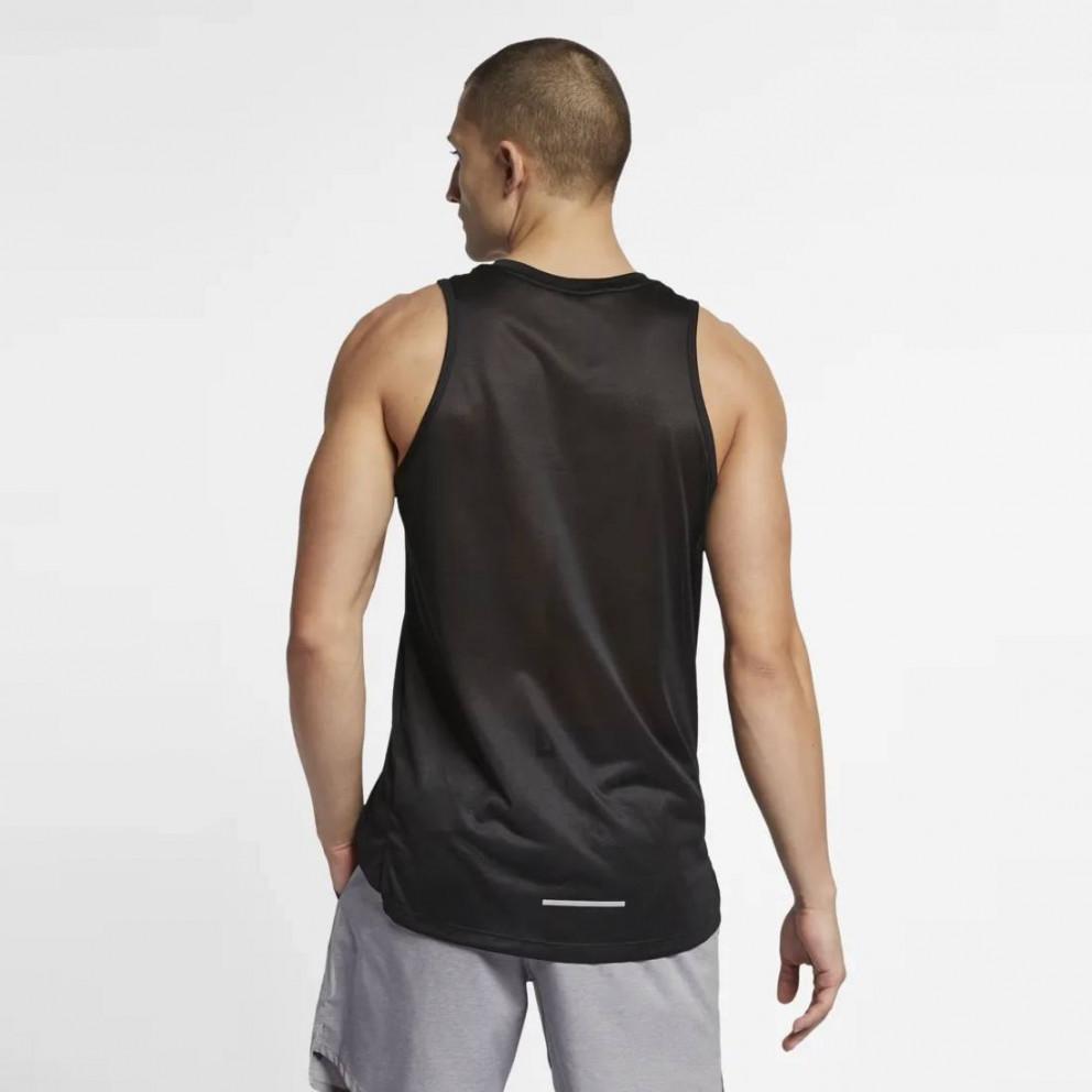 Nike Dri-FIT Miler Ανδρική Αμάνικη Μπλούζα