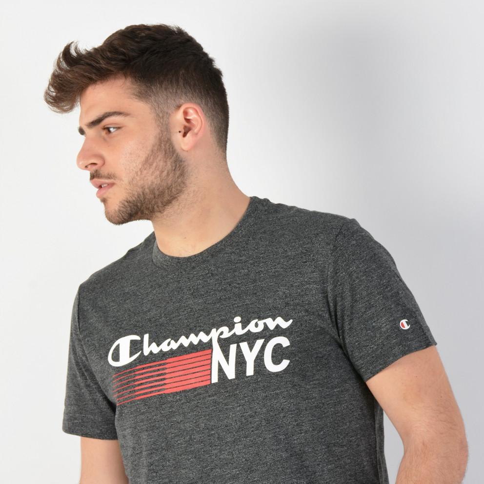 Champion Nyc Crewneck T-Shirt - Ανδρικό Μπλουζάκι