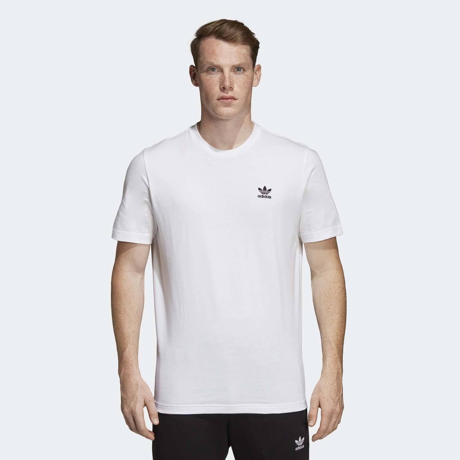 DV1576 Adidas Originals Essential Tee Running Gym Casual Cotton T-Shirt Top