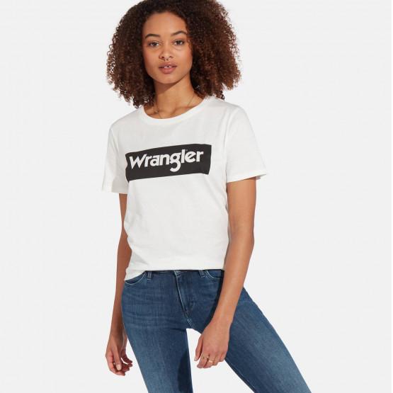 Wrangler LOGO TEE OFF WHITE