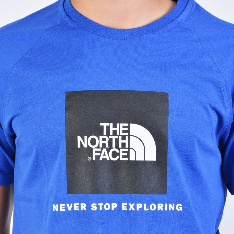 THE NORTH FACE M S/s Rag Red Box Te