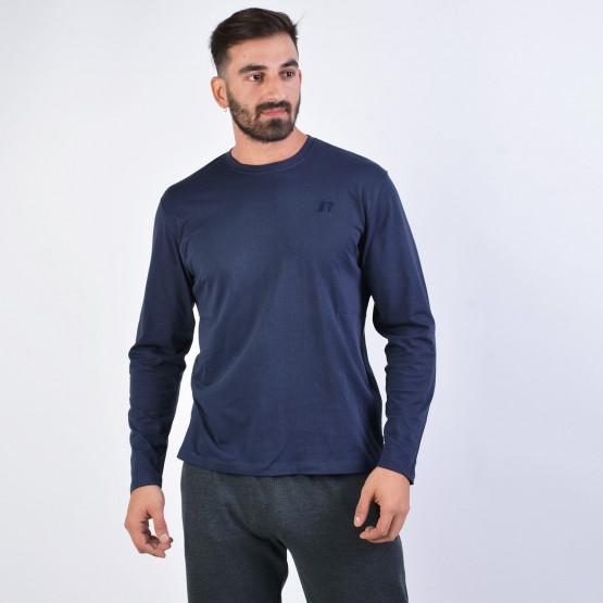 Russell Men's Long-Sleeve Crewneck T-shirt