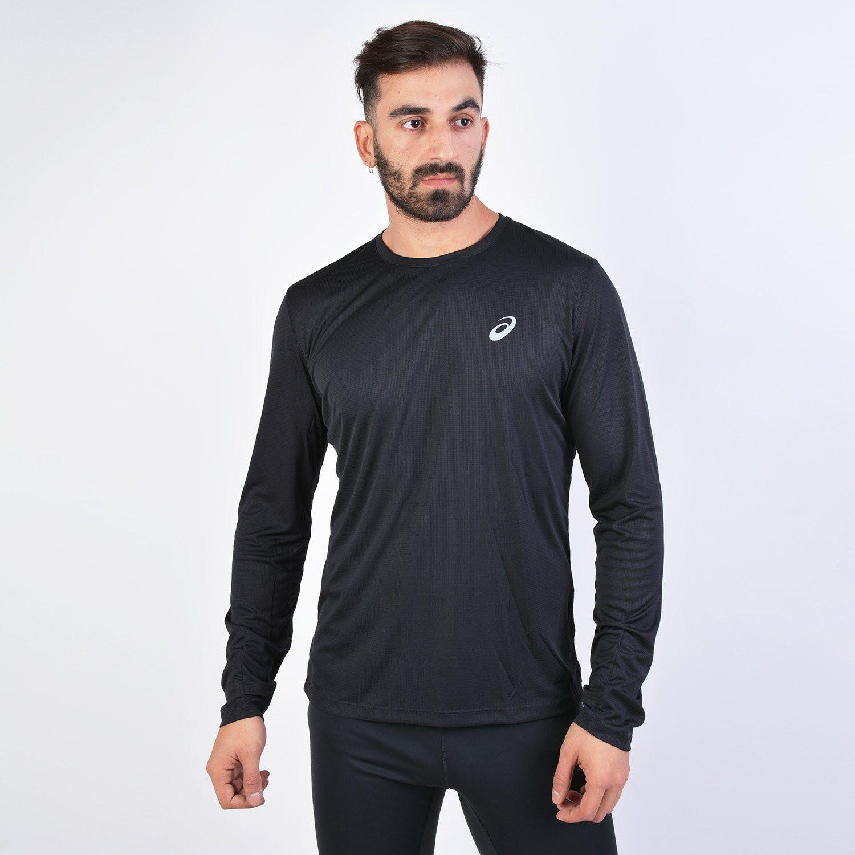 Asics Silver Men's Long-Sleeve T-Shirt (9000017190_6762)