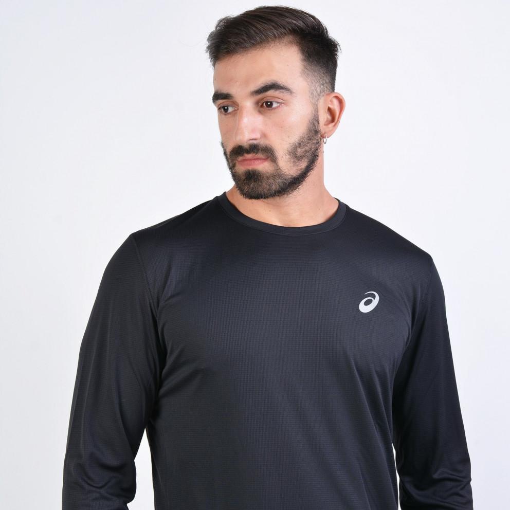 Asics Silver Ανδρική Μπλούζα με Μακρύ Μανίκι
